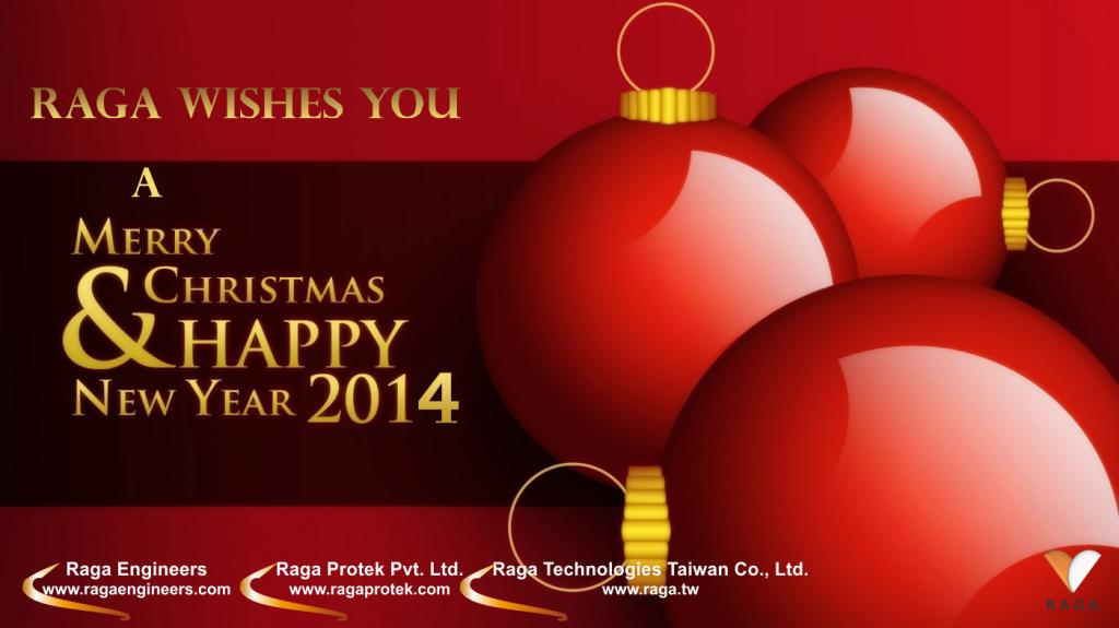 raga wishes you a merry christmas happy new year 2014 raga wishes